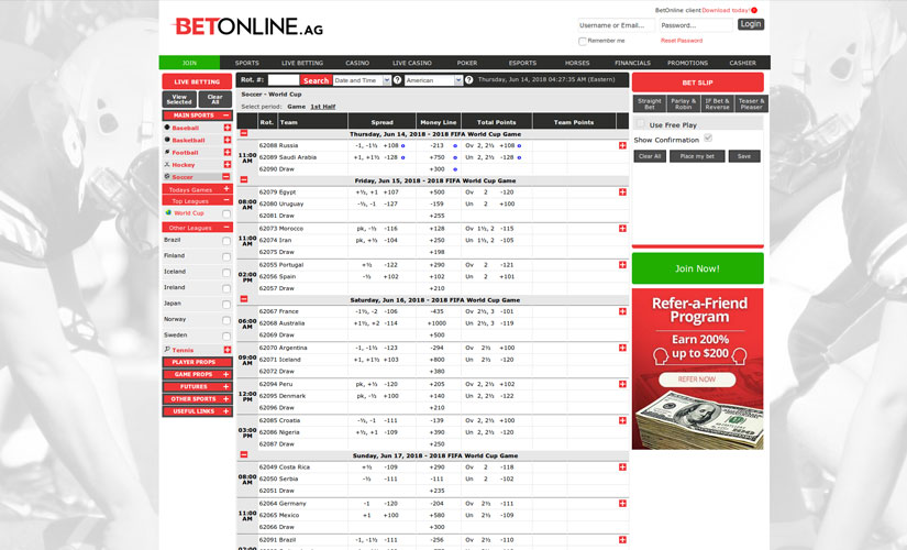 betonline screenshot